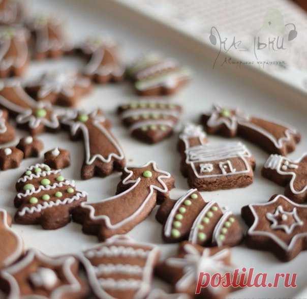 Рождественское печенье  / Райская пища