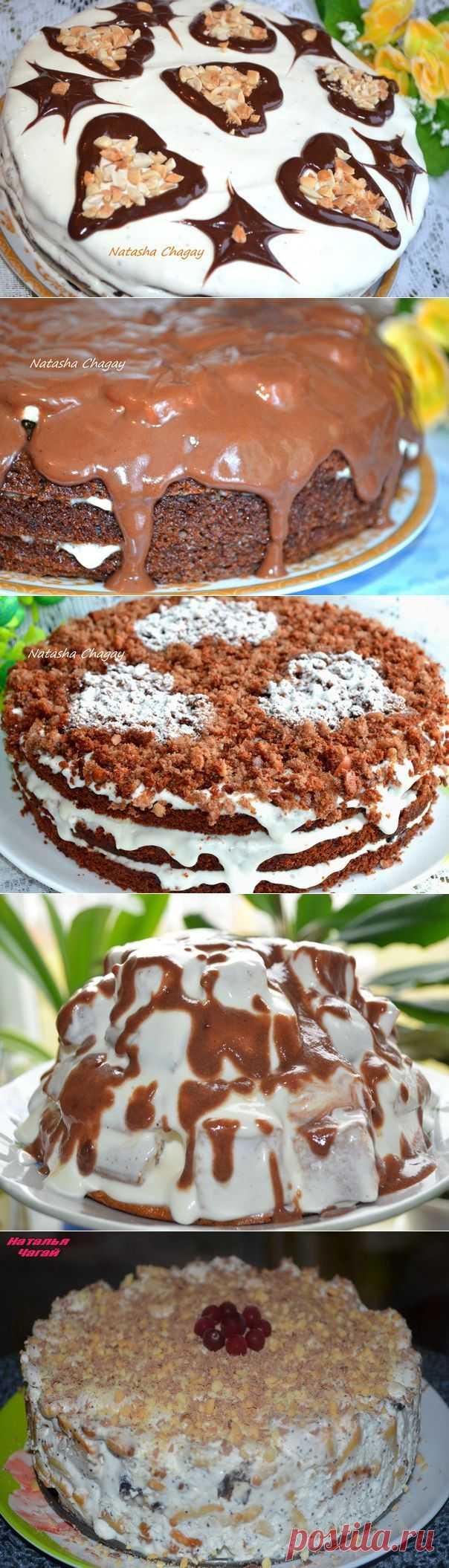 Супер тортики от Наташи Чагай!!! - Простые рецепты Овкусе.ру