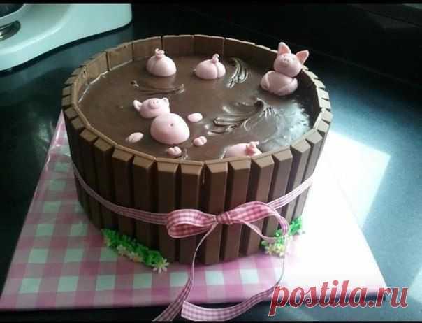 Идея оформления тортика