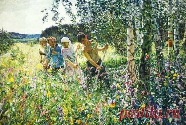 Картины русских художников о лете согреют душу, пока за окном не так тепло, как хотелось бы 🌳