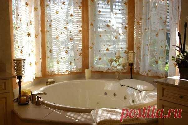 Потрясающая ванная