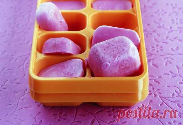 24 способа использования формы для льда в морозильнике