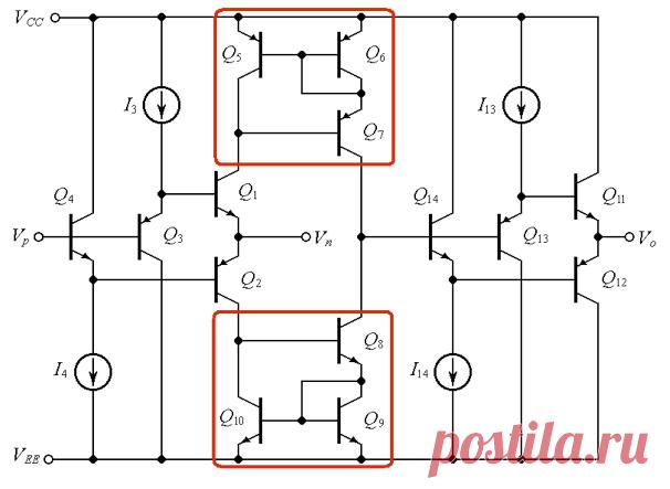 Типы и применение токовых зеркал