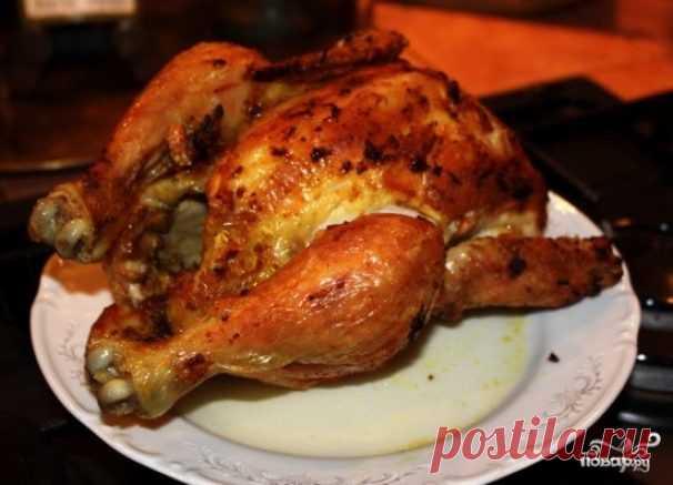 Курица в рукаве в микроволновке - рецепт с фото на Повар.ру