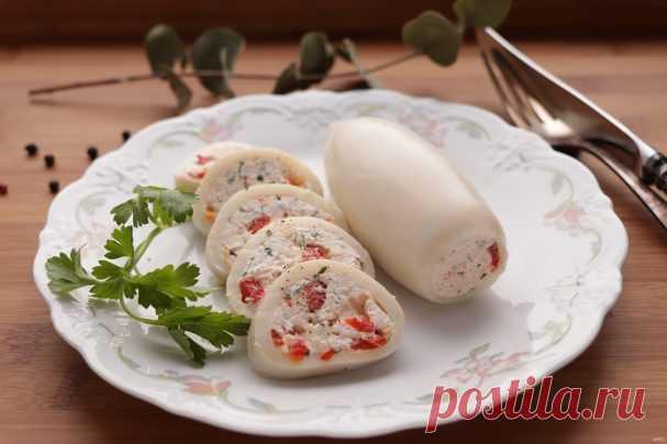 Кальмары с творогом - пошаговый рецепт с фото на Повар.ру