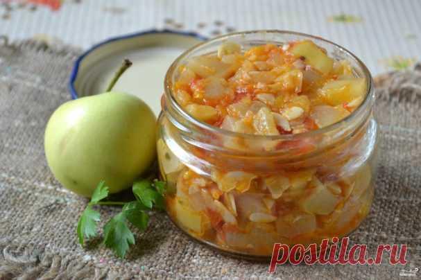 Кабачковая икра с яблоками на зиму - пошаговый рецепт с фото на Повар.ру