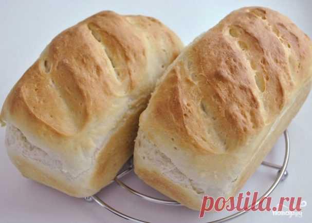 El pan blanco en el horno - poshagovyy la receta de la foto en Повар.ру