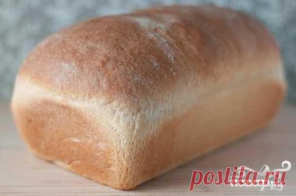 Классический белый хлеб - пошаговый рецепт с фото на Повар.ру