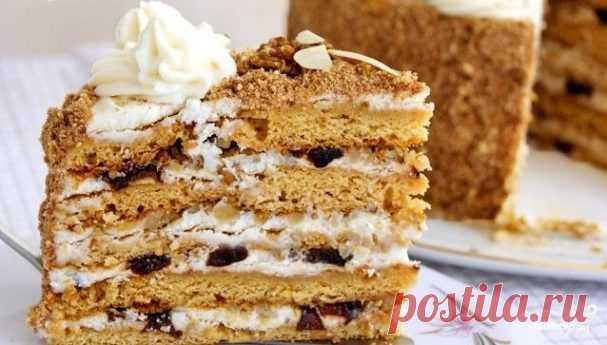 "Торт ""Арлекин"" - пошаговый рецепт с фото на Повар.ру"