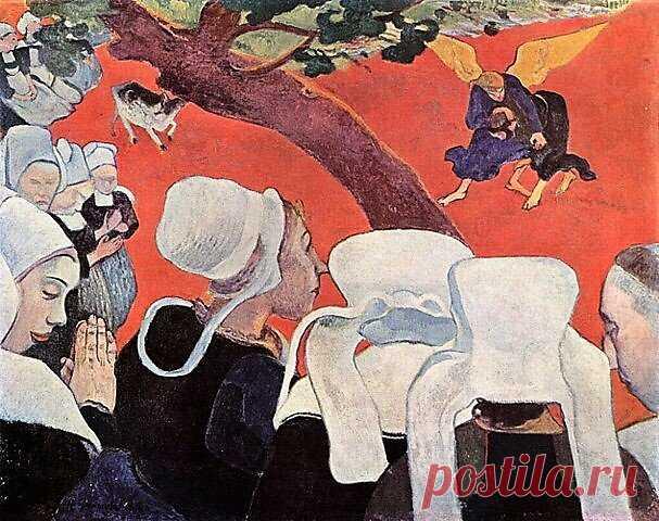 Живописный манифест Поля Гогена: клуазонизм и символизм | Живопись. По ту сторону холста. | Яндекс Дзен
