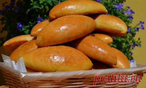 The simple recipe of pies with cabbage - the step-by-step recipe from a photo on Повар.ру