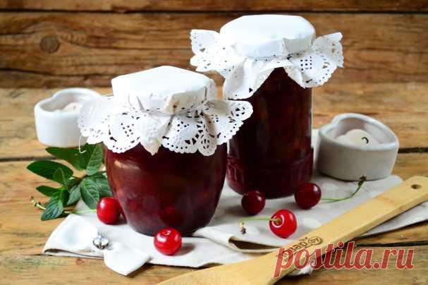 Джем из вишни с косточками - пошаговый рецепт с фото на Повар.ру