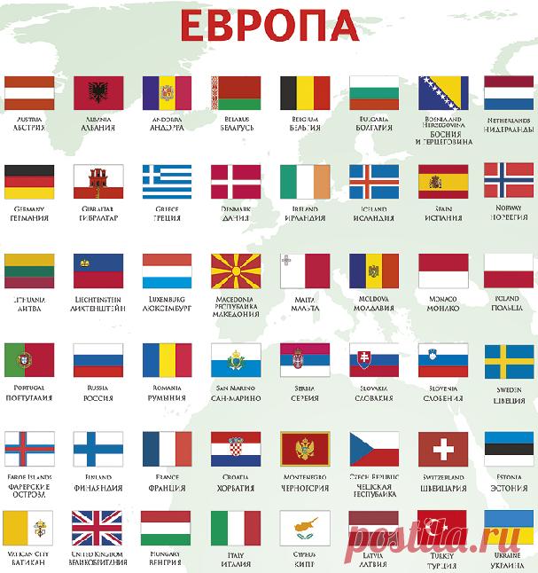 Онлайн, флаги картинки с названиями стран