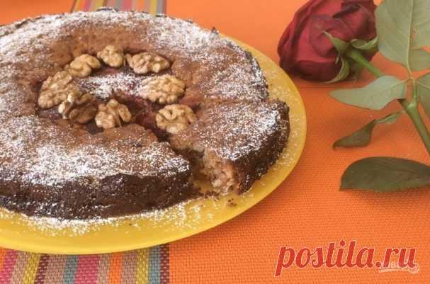 Сочный медово-ореховый пирог - пошаговый рецепт с фото на Повар.ру
