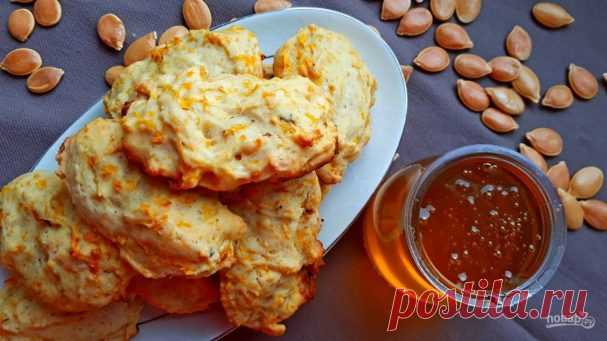 Pumpkin cookies in 20 minutes - the step-by-step recipe from a photo on Повар.ру