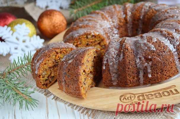 Морковный пирог (Правильное Питание) - пошаговый рецепт с фото на Повар.ру