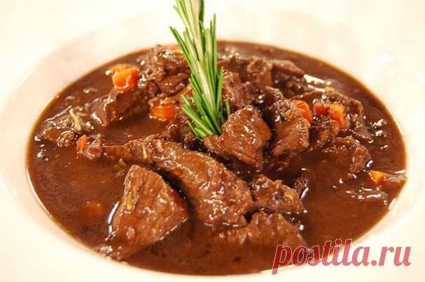 Говядина с красной смородиной - пошаговый рецепт с фото на Повар.ру