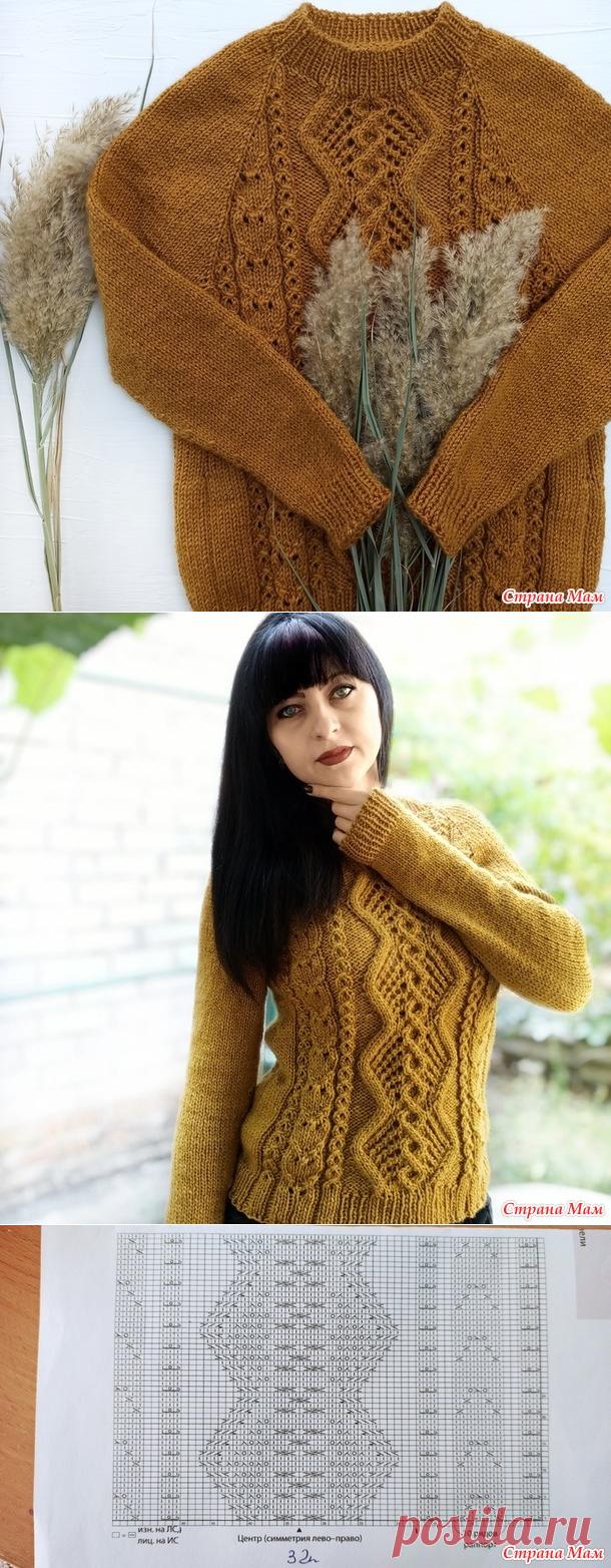 Как связать свитер спицами