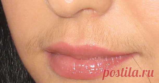 Обесцветить усики над губой в домашних условиях