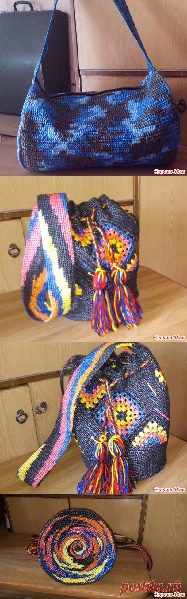 две сумки крючком - Вязание - Страна Мам
