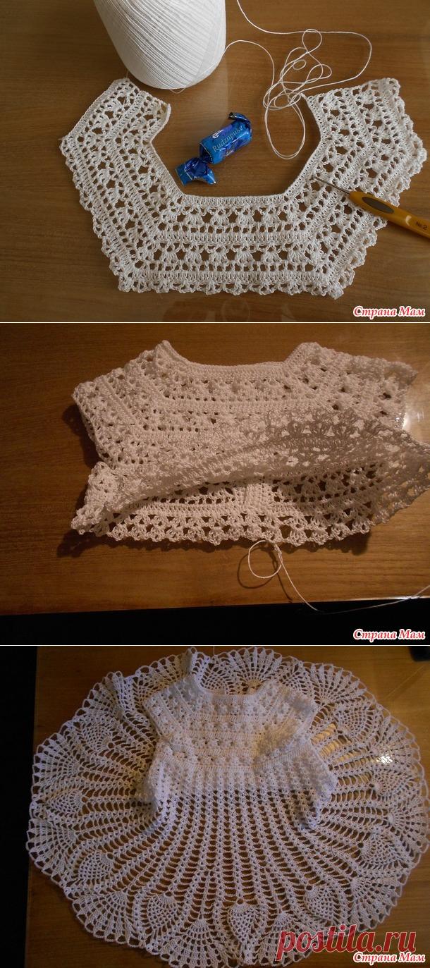 Kак я вяжу платье - Вязание для детей - Страна Мам