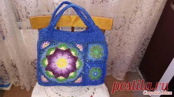 1cd4fbad43a6 сумка из пакетов крючком - Вязание - Страна Мам | Сумки | Постила