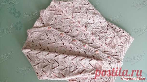 Кардиган для девочки - Вязание - Страна Мам