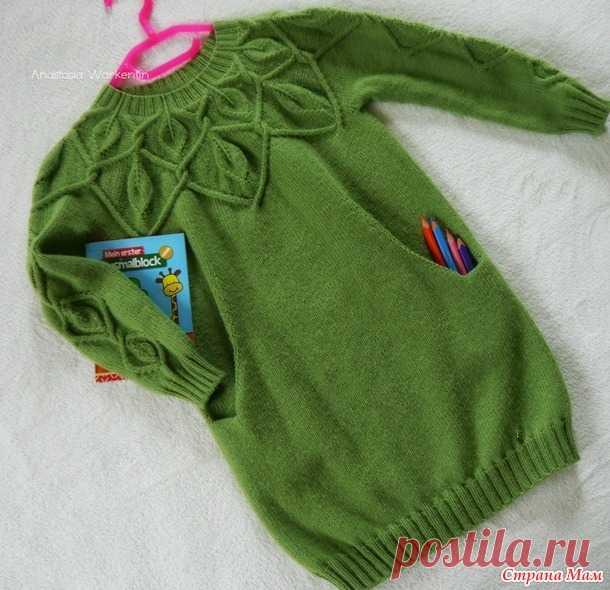 Платье-туника для девочки по мотивам