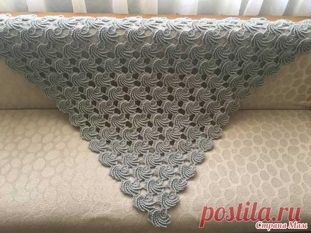 . Оригинальная шаль