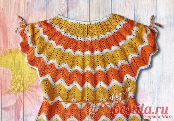 Платьице для девочки - Вязание для детей - Страна Мам