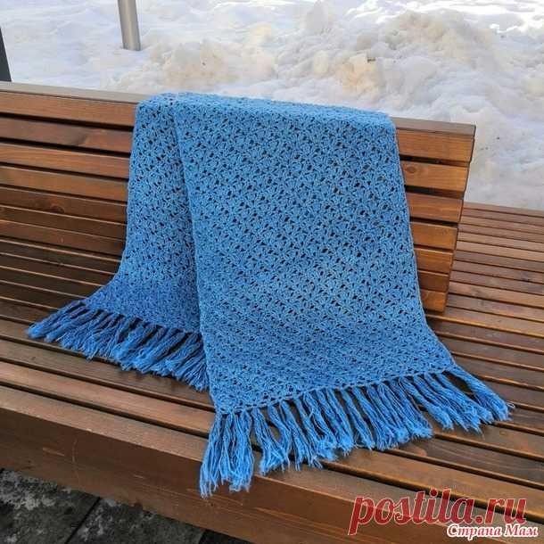 Палантин крючком - Вязание - Страна Мам