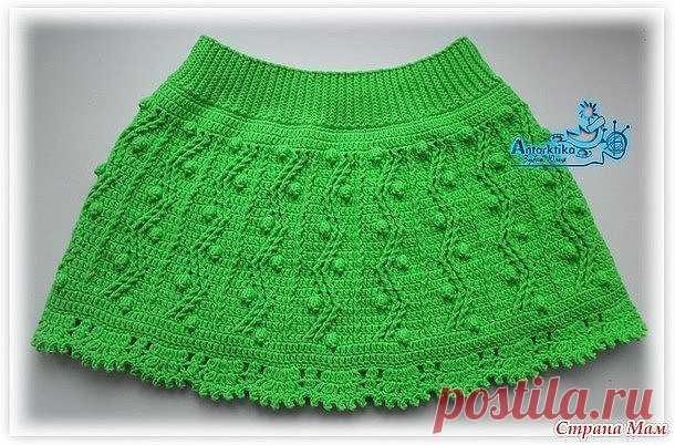 Красивая юбочка для девочки.