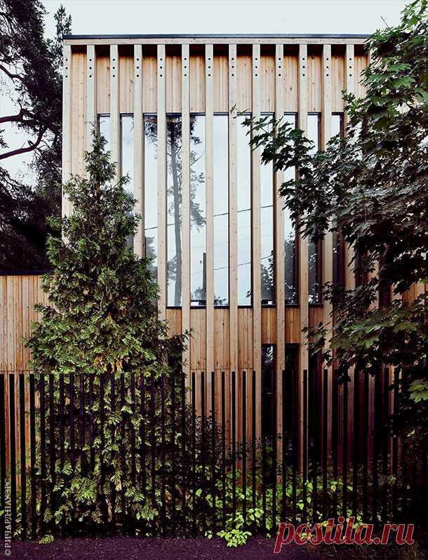 Современный дом в духе подмосковного жилья   Роскошь и уют
