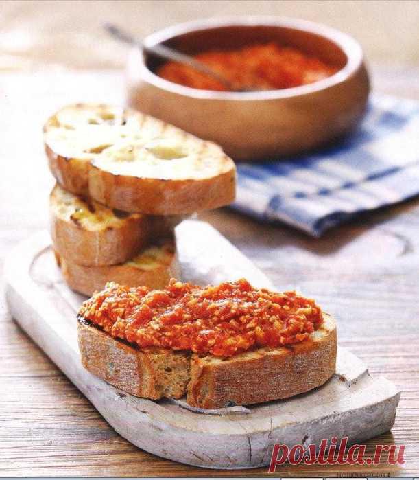 Сырная паста с помидорами