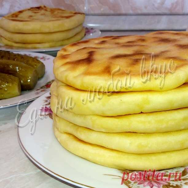 Лепешка с сыром рецепт с пошагово