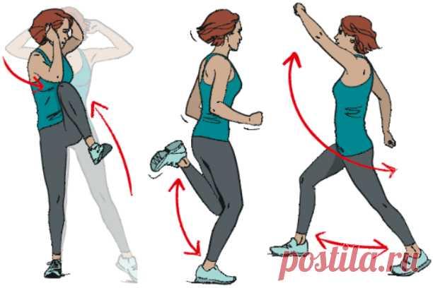 10 упражнений для энергичного дня