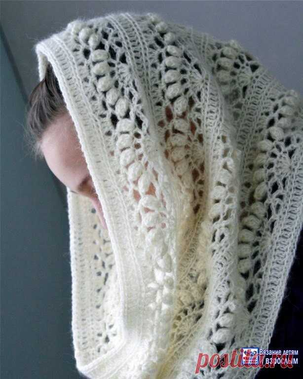 Шарф-снуд крючком схемы вязания (Вязание крючком) | Журнал ...