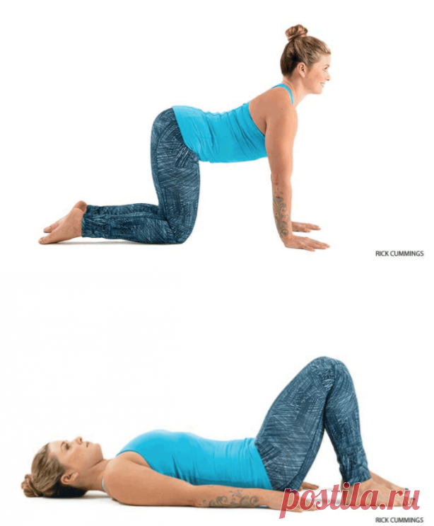 12 asanas from neck and back pain