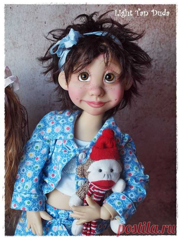 "(2) Tan "" DUDA "" By Kim Arnold www.thetrinketboxbjds.net   Bonecas \/ Dolls   el Bronceado"