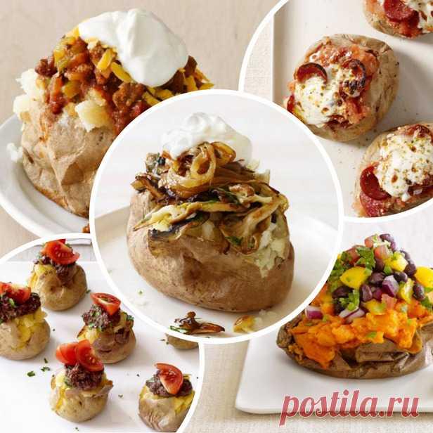 50 рецептов фаршированного картофеля Фаршированные блюда   Гранд кулинар
