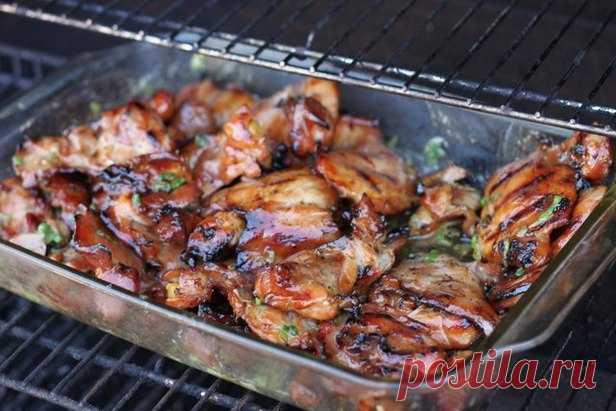 Курица в ананасовом маринаде по-гавайски рецепт   Гранд кулинар