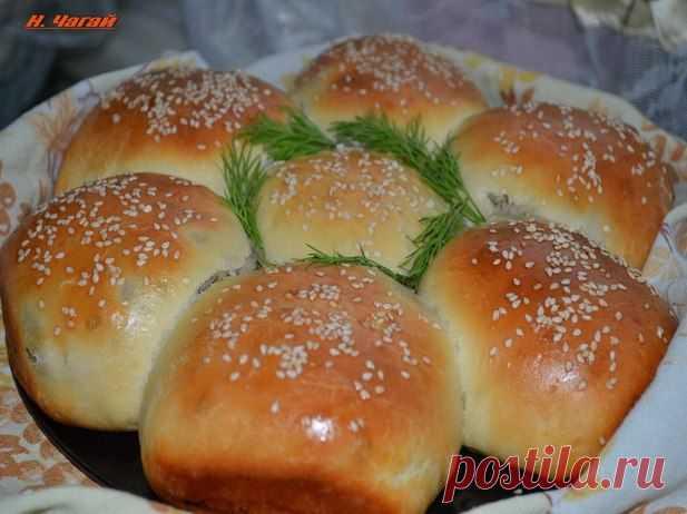 Пирожки с картошкой и грибами - Кулинария