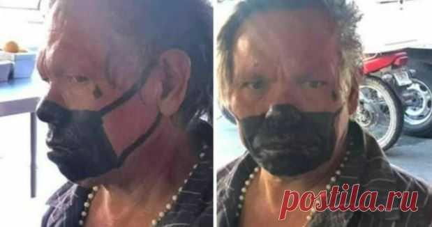 VIZELA: Homem multado por andar com uma máscara pintada na cara ...
