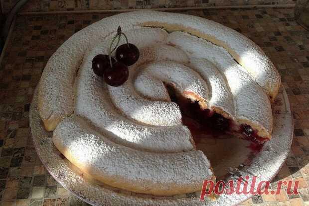 Пирог с вишней | Еда.ру | Яндекс Дзен