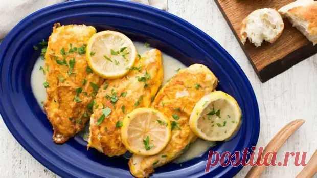 Цыпленок в лимонном соусе: вкусные и ароматные! - Скатерть-Самобранка - медиаплатформа МирТесен