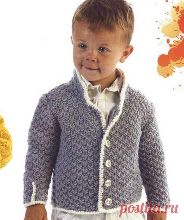 вязание спицами для детей до 3 х трех лет с описанием и схемами