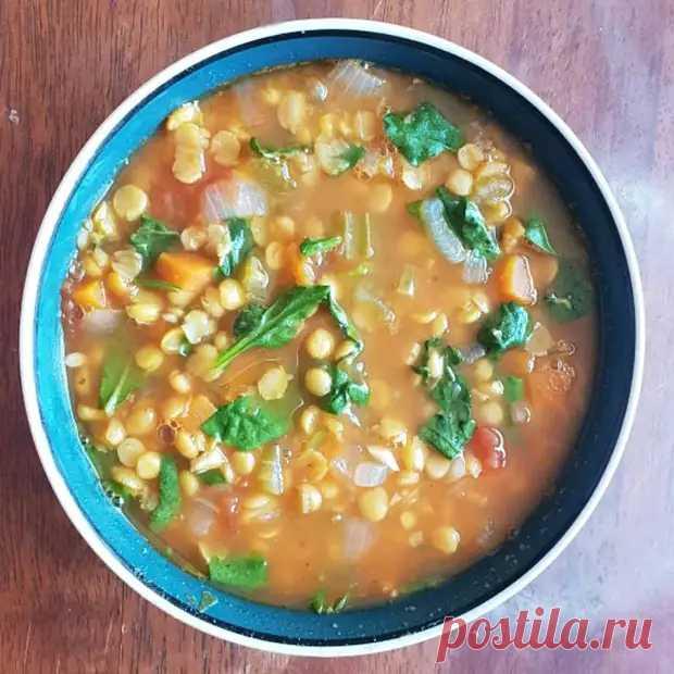 Суп из чечевицы с овощами - ФотоРецепт - медиаплатформа МирТесен