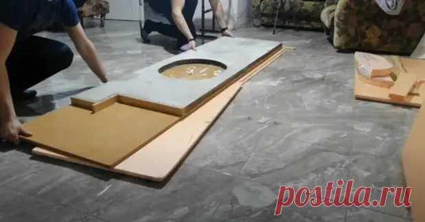 (6) Изготовление бетонной столешницы: пошаговая инструкция для новичков - Самоделкино - медиаплатформа МирТесен