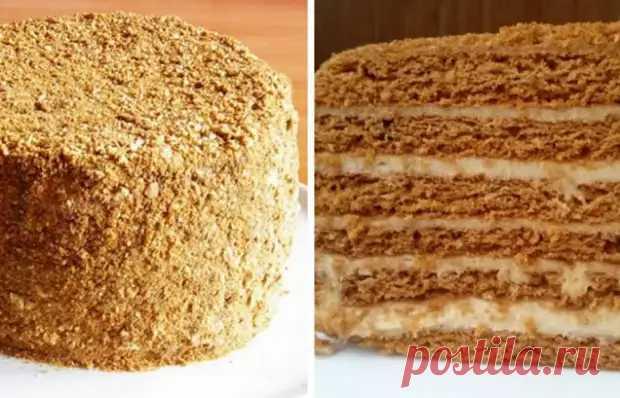 Вкуснейший польский медовик - Вкусные рецепты - медиаплатформа МирТесен