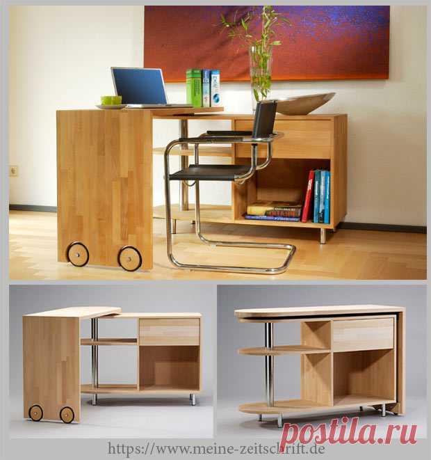 Уникальная мебель с поворотной столешницей — Идеи домашнего мастера